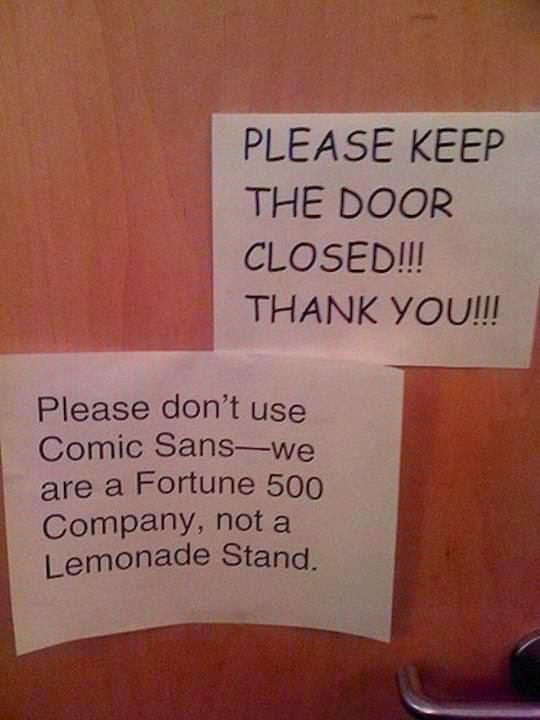 Comic Sans meme