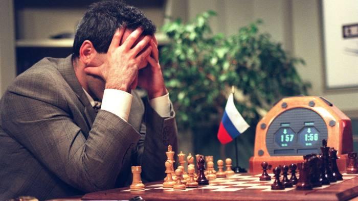 Garry Kasparov's defeat by Deep Blue