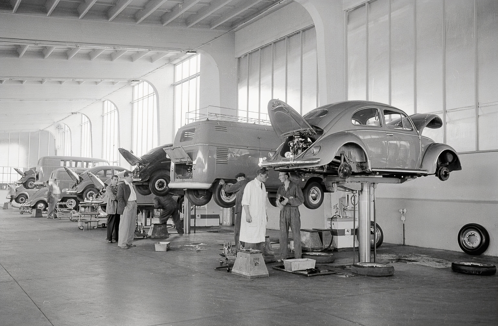 Old car manufacturing