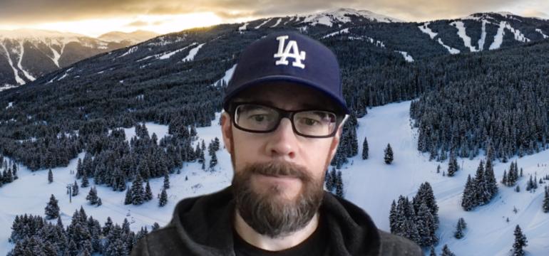 Geoff Coleman Zoom selfie